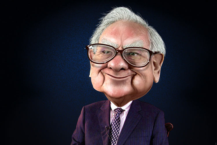 Warren Buffett caricature